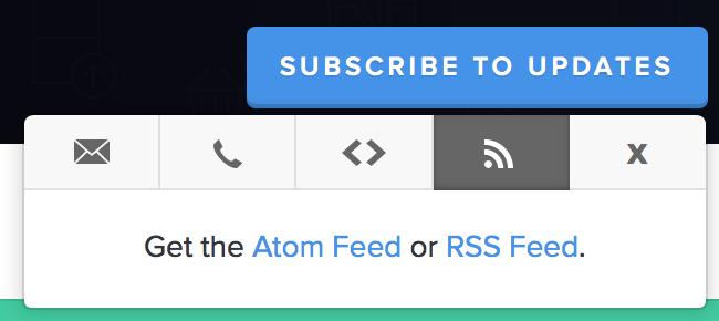 RSS Alerts